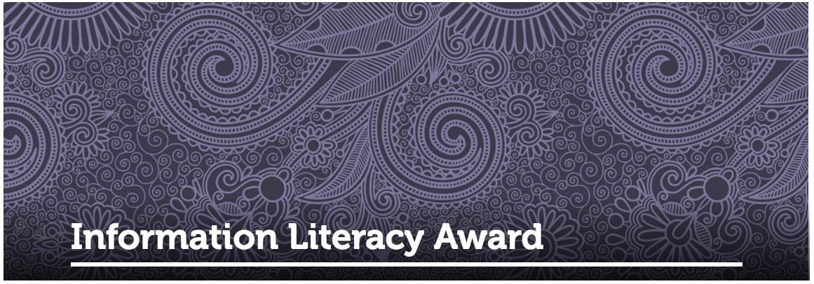 Information Literacy Award 2019 winners announced Newsroom