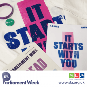 SLA Blog Post: UK Parliament Week Newsroom
