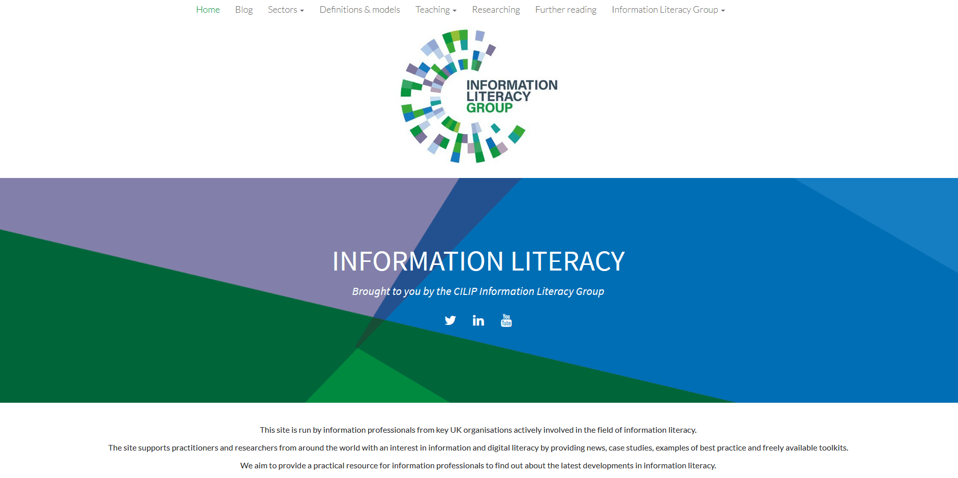 FOSIL added to Models and frameworks on the Information Literacy website Newsroom